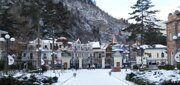 Georgia-Borjomi winter]